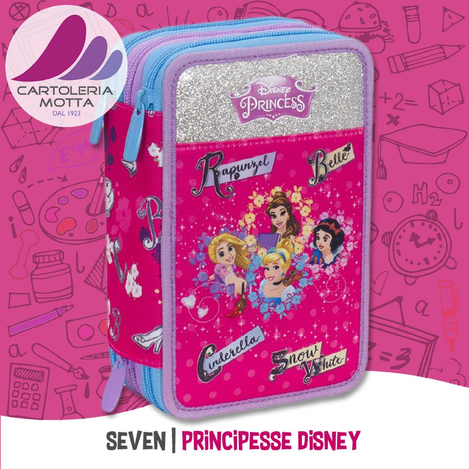 54351f875a7919 Seven 2018-2019 Astuccio principesse Disney. Seven 2018-2019 Astuccio  Minnie Mouse